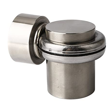 Alise Solid SUS 304 Stainless Steel Magnetic Door Stop Heavy Duty Door  Stopper Catch Metal Door