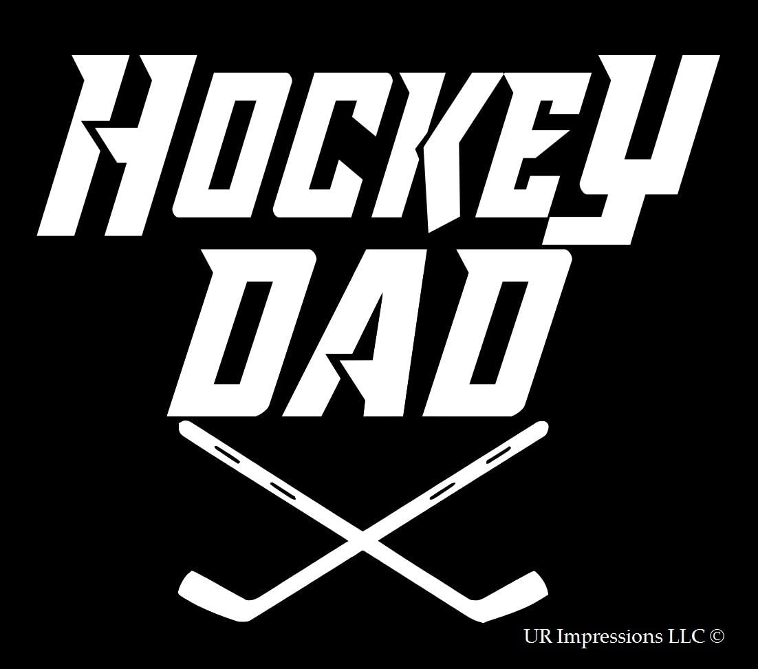 Hockey Dad Die Cut Vinyl Car Window Decal Bumper Sticker US Seller
