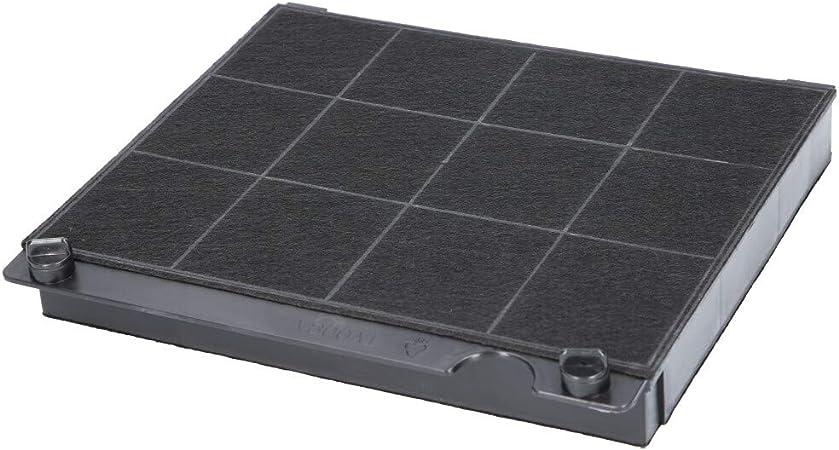 Filtro de carbón activo para campana extractora adecuado como alternativa para filtro de carbón 9029793818 + 00647734, para extractor de humos AEG, Bosch y Siemens, etc. 1 Filter: Amazon.es: Hogar