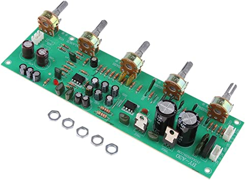DC 12-18V Hi-pre Preamplificador de Tonos Bajo Agudos Control de Volumen Kits de Bricolaje