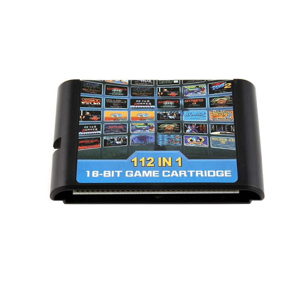 Kongqiabona 112 dans Une Carte de Jeu Portable de Cartouche de Jeu pour Retroad Sega Genesis