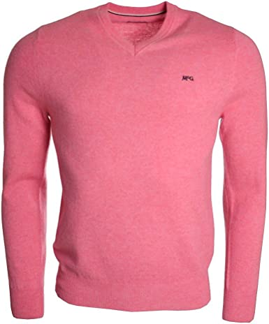 Pull McGregor rose Leaf pour homme: Amazon.