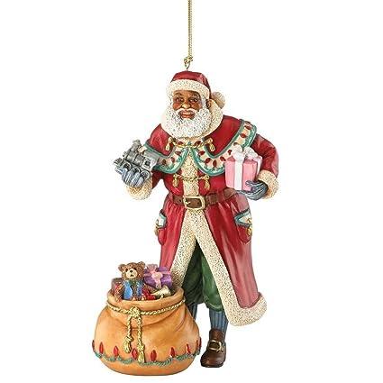 Amazon.com: Lenox Thomas Blackshear 2015 Father Christmas Resin ...