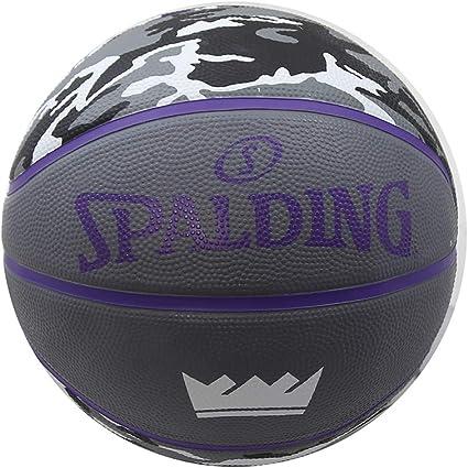 Spalding Sacramento Kings Camo - Balón de Baloncesto (tamaño 7 ...