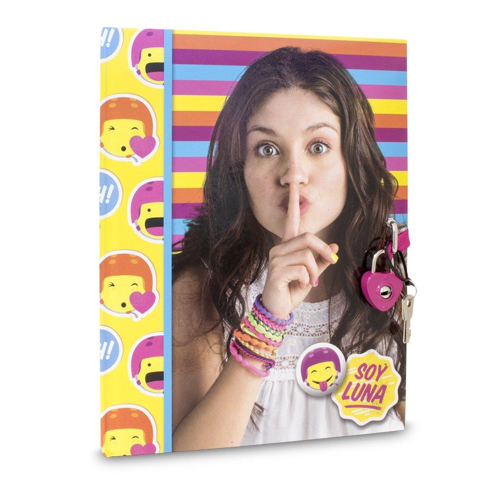 Soy Luna - Diario Secreto con candado (Giochi Preziosi YLG17000)