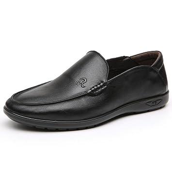 Zapatos de Hombre Artificial PU Mocasines Primavera/Otoño / Invierno Confort/Zapatos de conducción Mocasines y Slip-Ons Hombres Zapatos de Cuero (Color ...