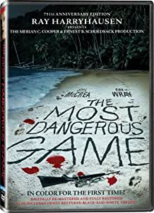 THE MOST DANGEROUS GAME - DVD THE MOST D