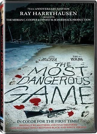 Amazon com: The Most Dangerous Game: Joel McCrea, Fay Wray