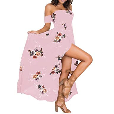 Vestidos Mujer Casual Largos Verano Mujeres Bohemia Sexy ...