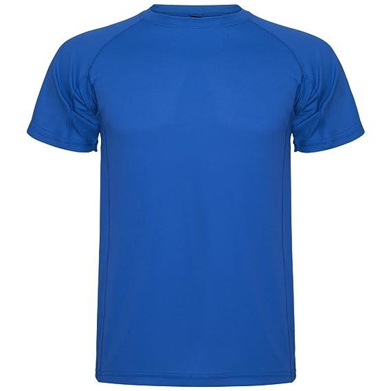 Roly Camiseta técnica para niños Montecarlo, Azul: Amazon.es: Ropa y accesorios