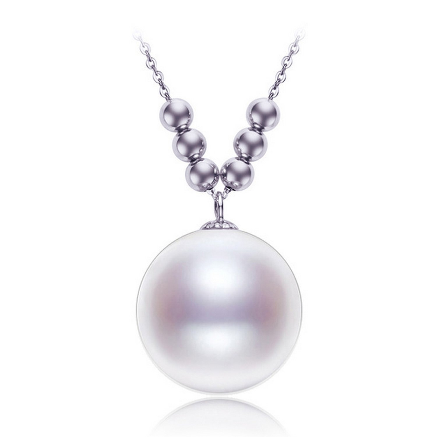 MMC Pearl Silver Pendants Necklaces