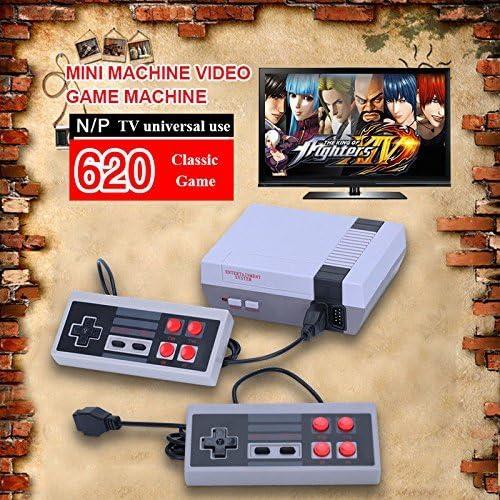 Amazon com: Mini Retro TV Game Console Classic 620 Games