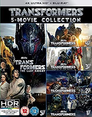Transformers: 5-Movie Collection [4K UHD + Blu-ray]