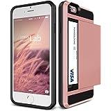 iPhone 6s / 6 Plus ケース カード収納 VERUS Damda Slide 背面 カード ケース 耐衝撃 二重構造 衝撃吸収 カバー [ アイフォン 6s / 6 プラス 専用 ] ローズゴールド