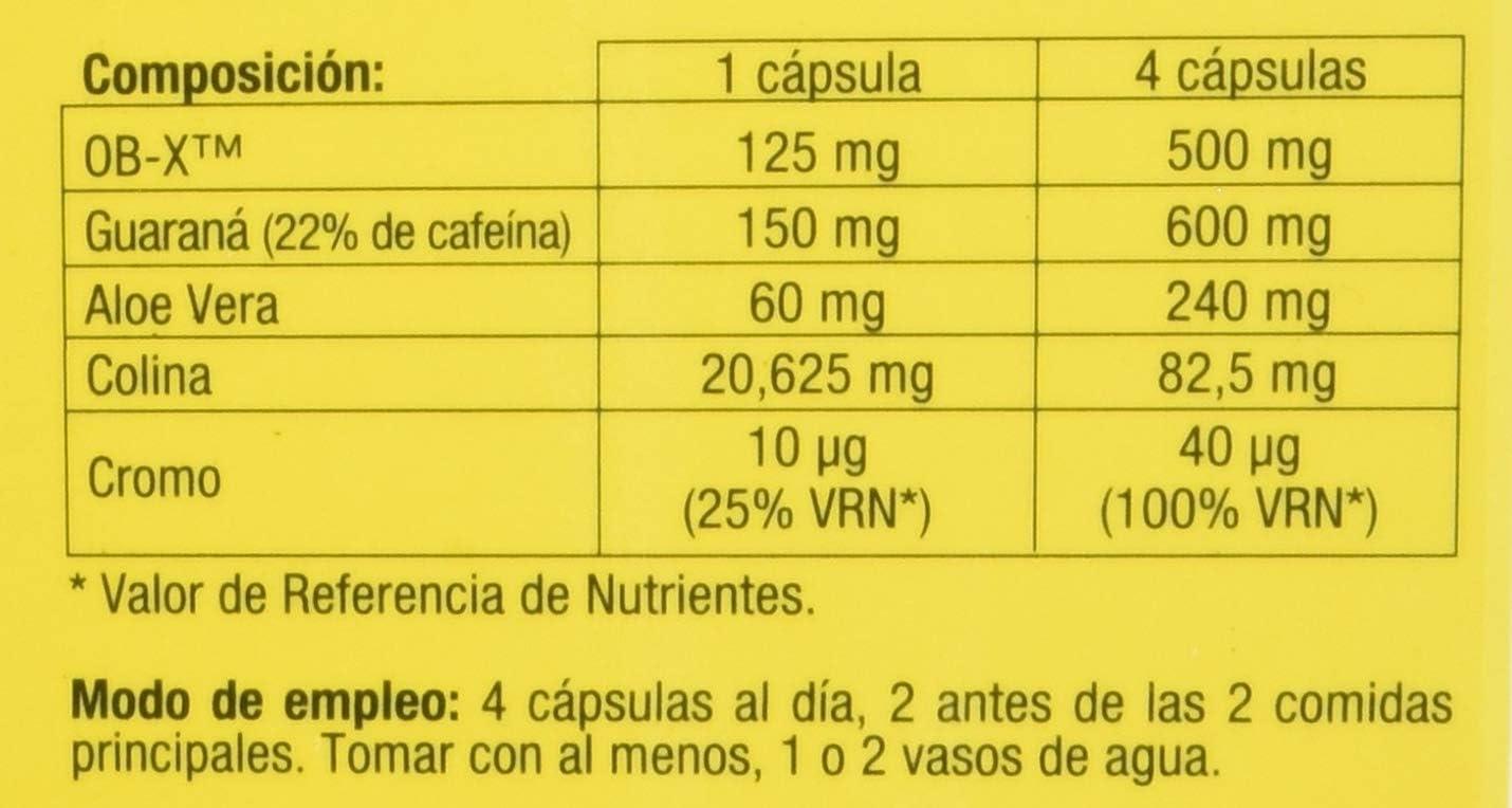 DietMed Adelgaslim Flash - Cápsulas, Blanco, 60 Unidad