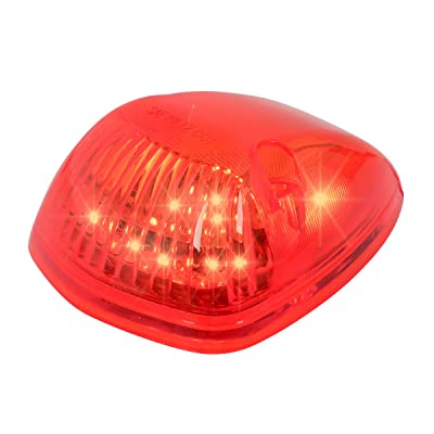 Grand General 82262 LED Light (Triangle Cab Marker Red with Red Lens): Automotive