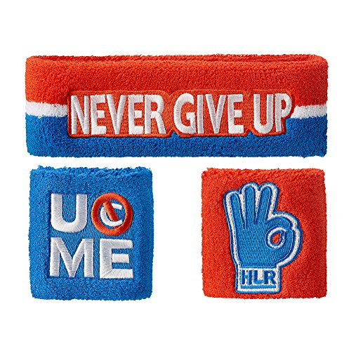 eb8b140d John Cena Headband Wristband Sweatband Set Choice of Color-Red ...