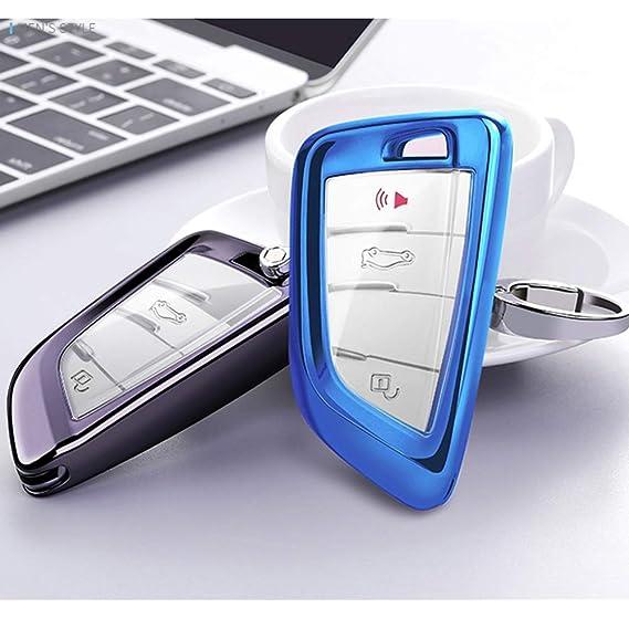 Amazon.com: Mofei - Funda protectora para llave de BMW X1 ...