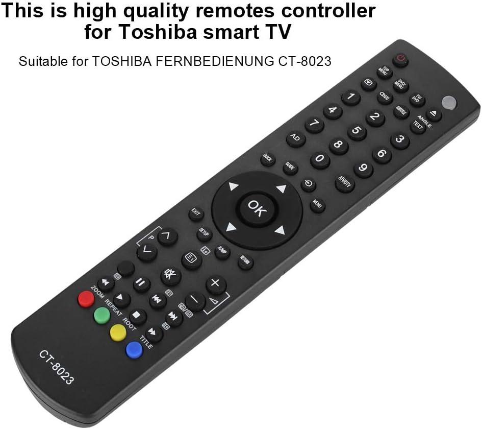 Mando a Distancia Reemplazo de Control Remoto para Toshiba CT-8023: Amazon.es: Electrónica