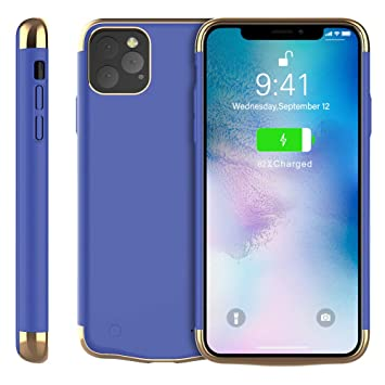 Happon Funda para iPhone Xis MAX 6.5 Inch 6000mAh Cargador ...