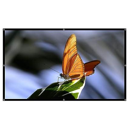 Amazon.com: Lucky Monet - Pantalla para proyector portátil ...