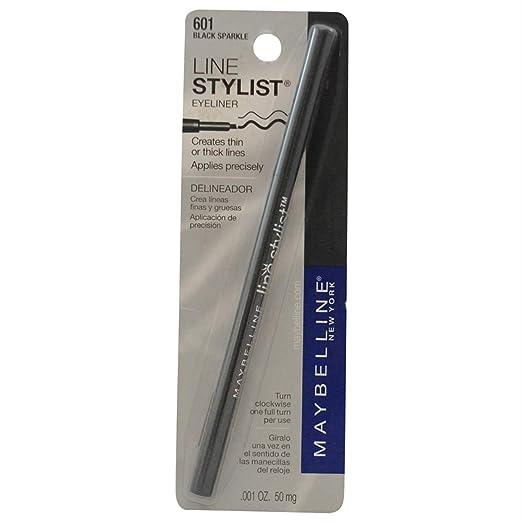 Amazon.com : Maybelline Line Stylist - Black Sparkle : Eye Liners : Beauty