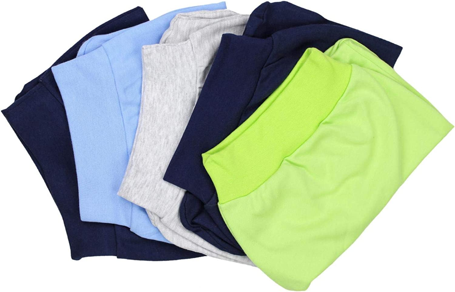 Pack of 5 TupTam Baby Boys Footed Trousers