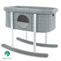 Green Frog Baby Bassinet