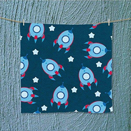 travel towel blue boyish wallpaper Luxury Hotel & Spa Towel W19.7'' x W19.7'' by L-QN