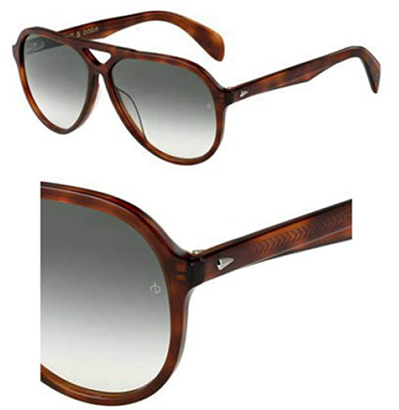 Amazon.com: Gafas de sol Rag and Bone Rnb 5015/S 0WR9 Brown ...