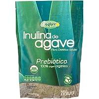 Enature Inulina de Agave Orgánico, Sabor Natural, 500 g