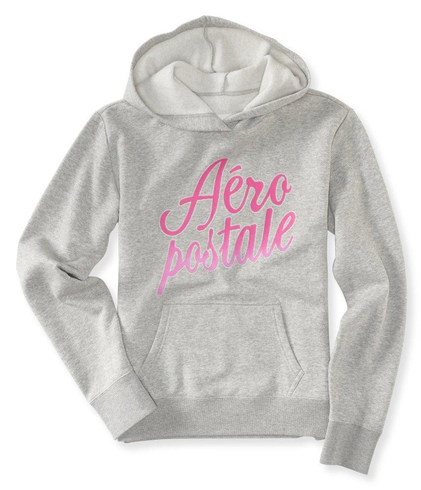 Aeropostale Womens Foil Script Hoodie Sweatshirt 052 XS