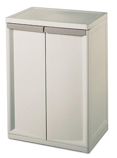 amazon com wosherd 01408501 2 shelf cabinet with putty handles rh amazon com