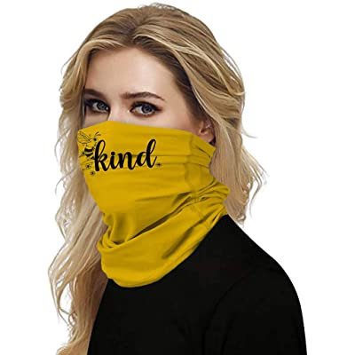 Simayixx Men Women\'s Turban Scarf Bicycle Neck Tube Bandana Face Protection Dust Casual Headwear Seamless Neck Gaiter (E, Free Size): Clothing [5Bkhe1106421]