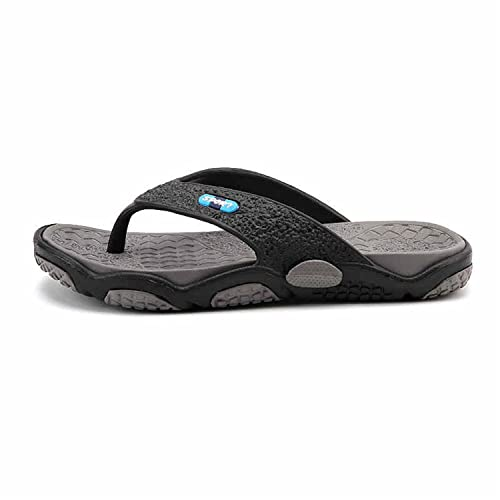 4090ce021cd7 Marvin Cook Mens Flip Flops Summer Style Rubber Soft Shoes Outdoor Beach  Slippers Massage Footwear Gray 6.5  Amazon.ca  Shoes   Handbags