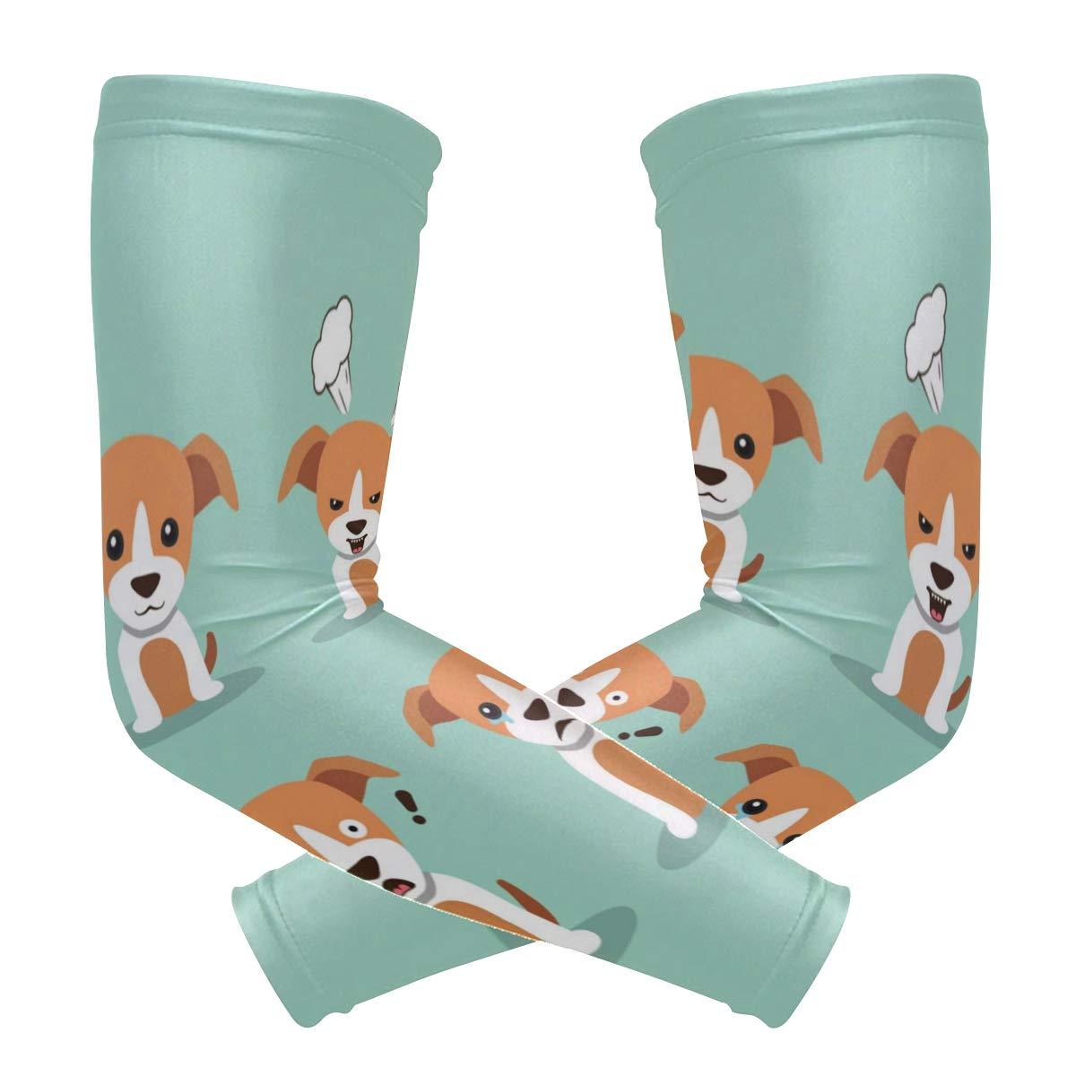 アームスリーブ 犬の隠れバス メンズ 太陽 UV保護スリーブ アームウォーマー クールなロングセットカバー B07H9LTL7D  カラー6 One Size