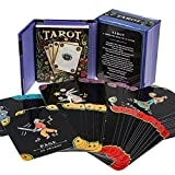 img - for TarotTarot Card Deck and Book Set Complete Mega Mini Kit Fortune Telling Men Women Teen (Miniature Editions) book / textbook / text book