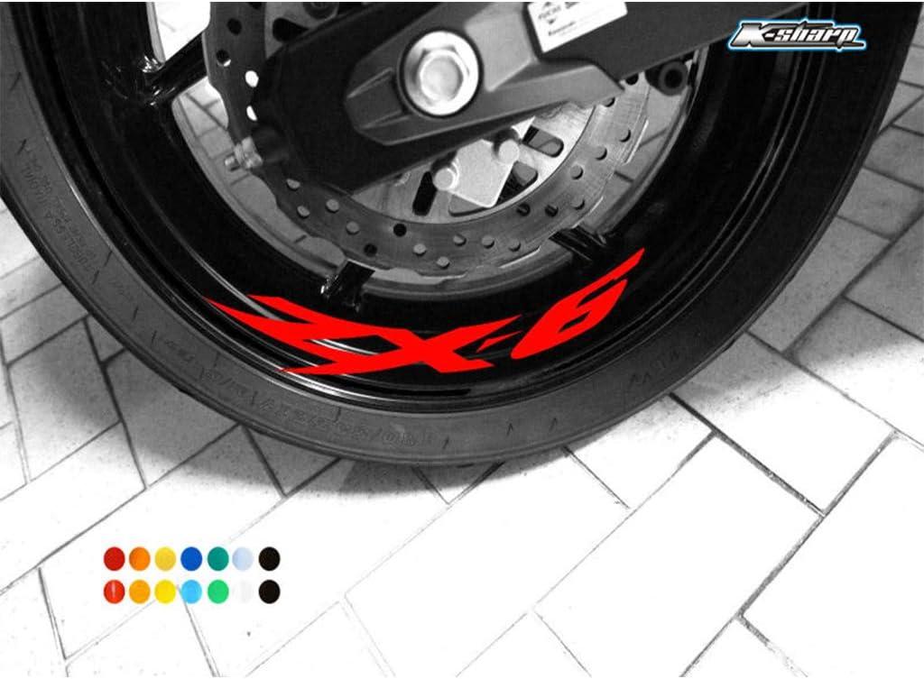 psler Moto Roues Jantes Int/érieur Autocollant pour Kawasaki ZZ-R 1400