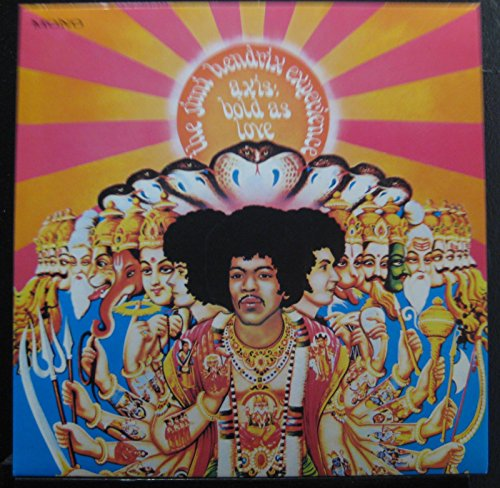 The Jimi Hendrix Experience - Axis: Bold As Love - Lp Vinyl Record (Jimi Hendrix Axis Bold As Love Lp)