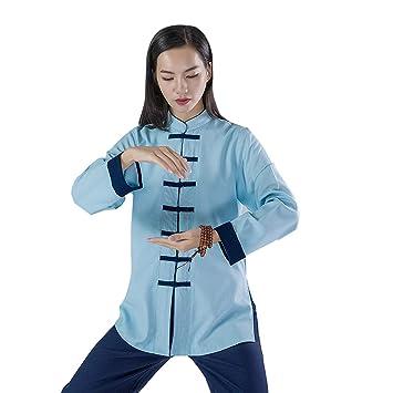 KSUA Uniforme de Artes Marciales para Mujeres Tai Chi Traje Ropa ...