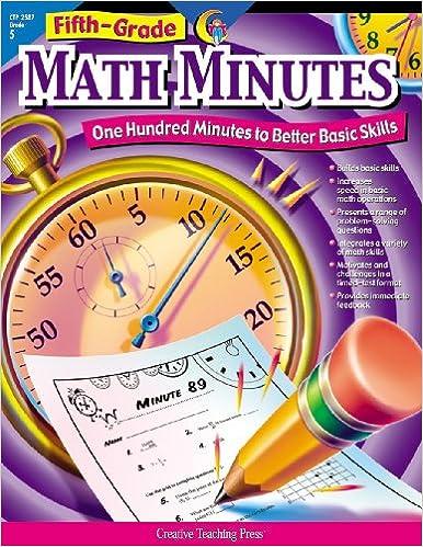 Amazon.com: Math Minutes, 5th Grade (CTP 2587) (9781574718164 ...