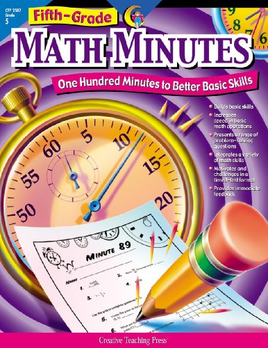 Math Minutes, 5th Grade (CTP (Math Games For 5th Grade)