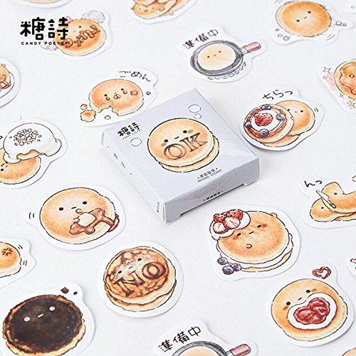 lavenz Lovely Pancake pegatinas decorativas para bricolaje decoración Diary. (45piezas/Pack)