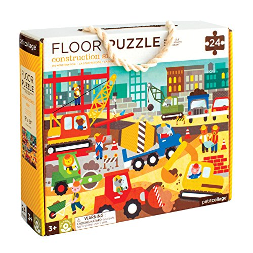 uction Site Floor Puzzle, 24 Pieces ()