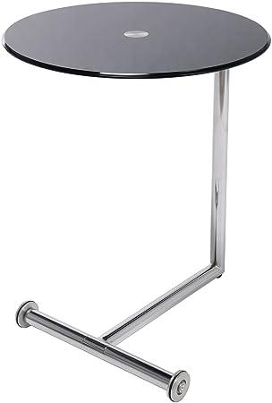 Kare Design Beistelltisch Easy Living Kleiner Runder Glastisch Mit