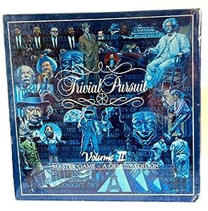 Trivial Pursuit Volume II - A Genus Edition, Master Game