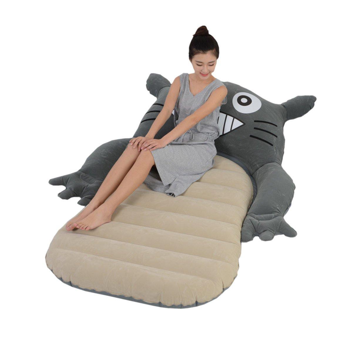 Dfb Karikatur Aufblasbare Bett Auto Aufblasbare Matratze Meer Surfen Schwimmende Reihe Single Dormitory Beach Freizeit
