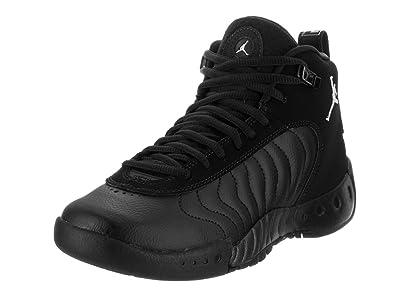 3e1dffd28e2 Jordan Nike Kids Jumpman Pro BG Black White Black Basketball Shoe 5.5 Kids  US