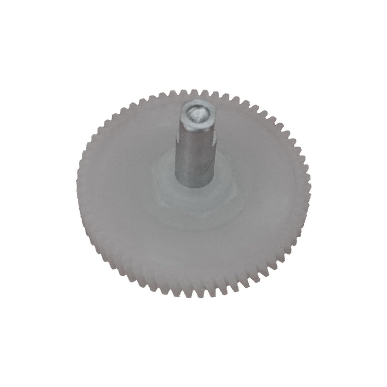48 mm 62 Teeth Bross BSR518 Sunroof Motor Repair Gear with Shaft for Mini Cooper 62 Teeth Diameter