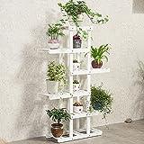 L;IAN Wooden Flower Rack, 5 Shelves, Indoor Plant Stand, Multi-Tier Floor-Standing, Storage Rack for Balcony Living Room 51.237.010.2 in